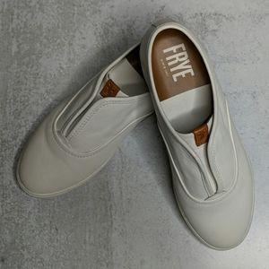 Frye Mindy Slip-On Leather Sneaker - Size 8M - EUC